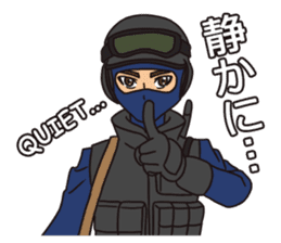 SWAT Codename 01 sticker #12597565