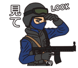 SWAT Codename 01 sticker #12597567