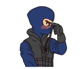 SWAT Codename 01 sticker #12597568