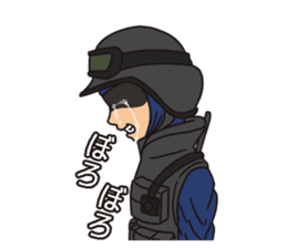 SWAT Codename 01 sticker #12597574