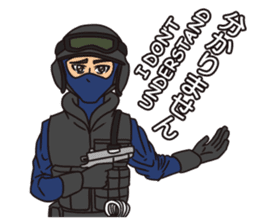 SWAT Codename 01 sticker #12597582