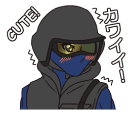 SWAT Codename 01 sticker #12597594