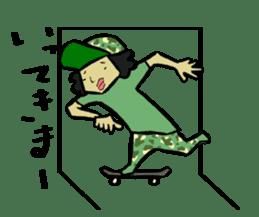 Skater 6 sticker #12597838