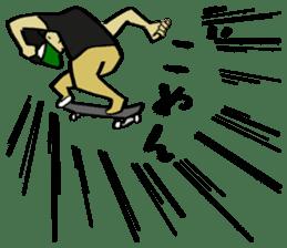 Skater 6 sticker #12597847