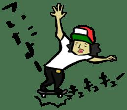 Skater 6 sticker #12597864