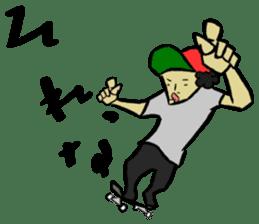 Skater 6 sticker #12597870