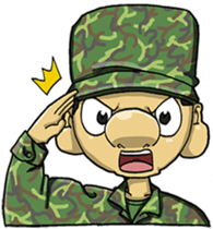 Nose's Military Life sticker #12598518