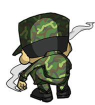 Nose's Military Life sticker #12598527