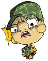 Nose's Military Life sticker #12598537