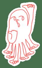 Eight thumbs up Octopus sticker #12598946