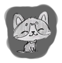 Cute cats in sketches (N.1) by trikono sticker #12602482
