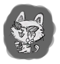 Cute cats in sketches (N.1) by trikono sticker #12602495