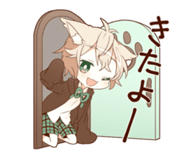 NEKOMIMI boy sticker sticker #12613374
