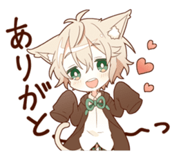 NEKOMIMI boy sticker sticker #12613377