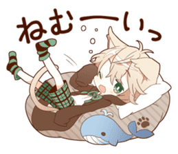 NEKOMIMI boy sticker sticker #12613383