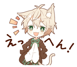 NEKOMIMI boy sticker sticker #12613394