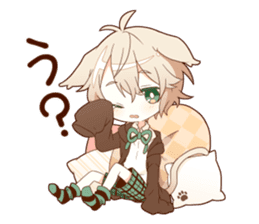 NEKOMIMI boy sticker sticker #12613396