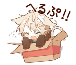 NEKOMIMI boy sticker sticker #12613398