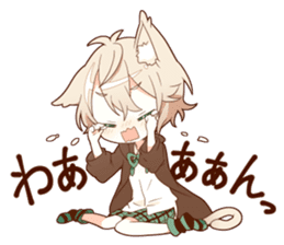 NEKOMIMI boy sticker sticker #12613399