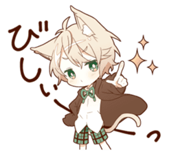 NEKOMIMI boy sticker sticker #12613402