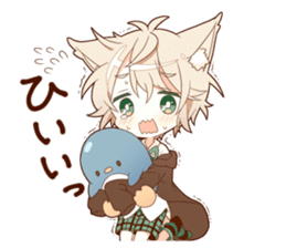 NEKOMIMI boy sticker sticker #12613409