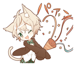NEKOMIMI boy sticker sticker #12613410