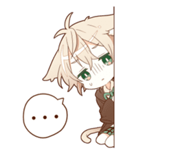 NEKOMIMI boy sticker sticker #12613413