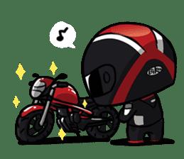 The Biker sticker #12614971