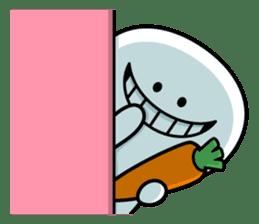 """Smile Person """"Carrot"""" sticker #12617015"""