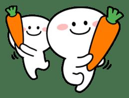 """Smile Person """"Carrot"""" sticker #12617018"""