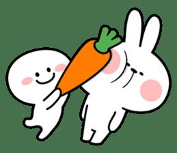 """Smile Person """"Carrot"""" sticker #12617025"""