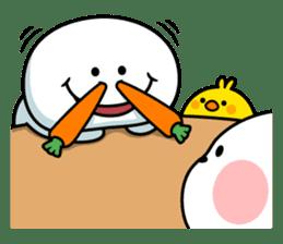 """Smile Person """"Carrot"""" sticker #12617030"""