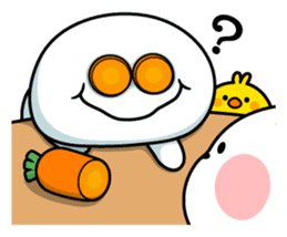 """Smile Person """"Carrot"""" sticker #12617031"""