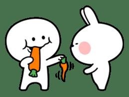 """Smile Person """"Carrot"""" sticker #12617032"""