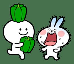 """Smile Person """"Carrot"""" sticker #12617033"""