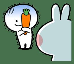 """Smile Person """"Carrot"""" sticker #12617034"""