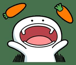 """Smile Person """"Carrot"""" sticker #12617037"""