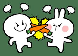 """Smile Person """"Carrot"""" sticker #12617040"""