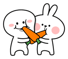 """Smile Person """"Carrot"""" sticker #12617041"""