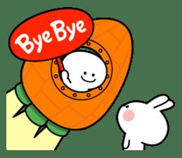"""Smile Person """"Carrot"""" sticker #12617045"""