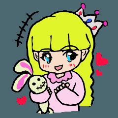 Princess Sticker 1