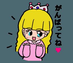 Princess Sticker 1 sticker #12618855