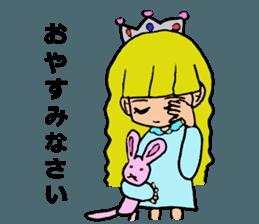 Princess Sticker 1 sticker #12618856
