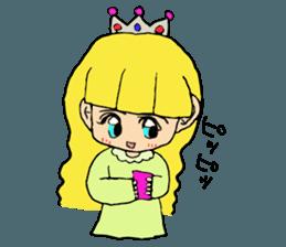 Princess Sticker 1 sticker #12618860