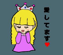 Princess Sticker 1 sticker #12618866