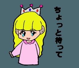 Princess Sticker 1 sticker #12618870