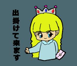 Princess Sticker 1 sticker #12618872