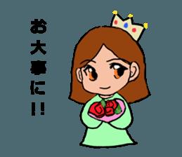 Princess Sticker 1 sticker #12618875