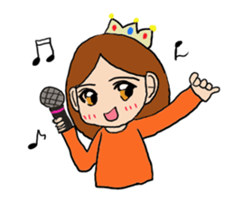 Princess Sticker 1 sticker #12618877