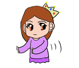Princess Sticker 1 sticker #12618878
